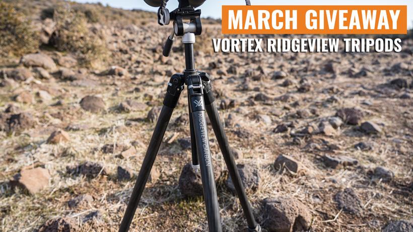 Vortex Ridgeview Carbon Tripod giveaway