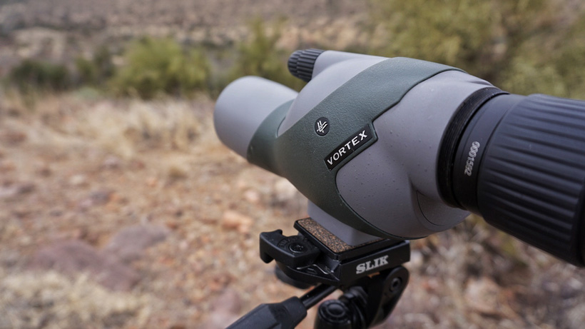 Vortex spotting scope glassing for deer