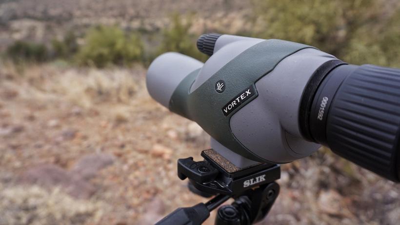 Vortex spotting scope glassing for deer