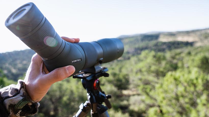 Vortex spotting scope glassing