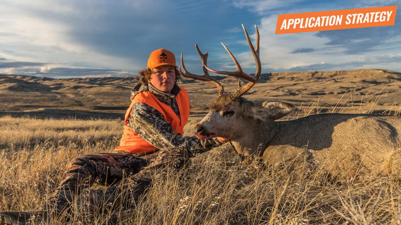Western big game hunting application strategy