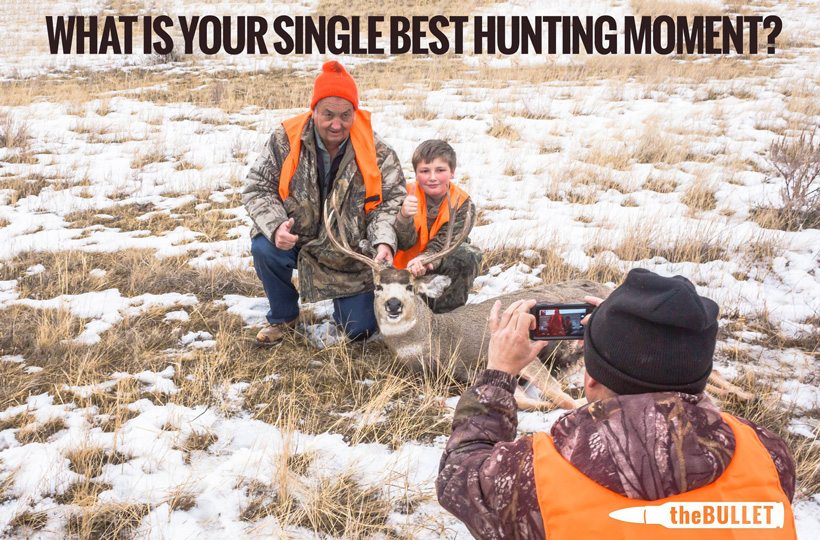 What is your single best hunting moment?