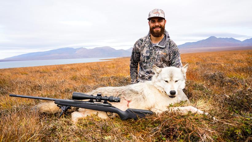 Wolf Marcus Gores took in Alaska