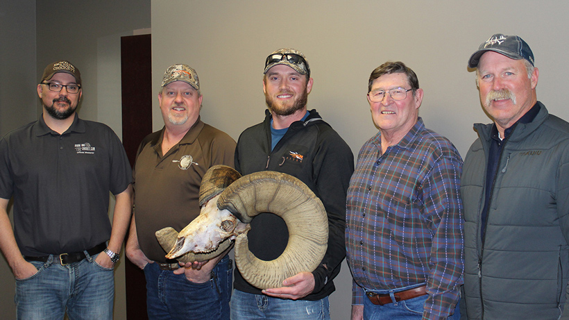 Clayton Miller World Record Rocky Mountain Bighorn