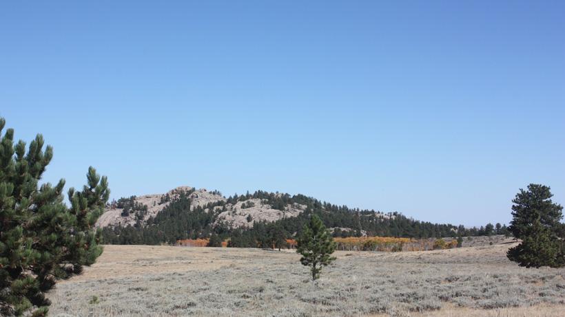 Wyoming antelope hunting scenery