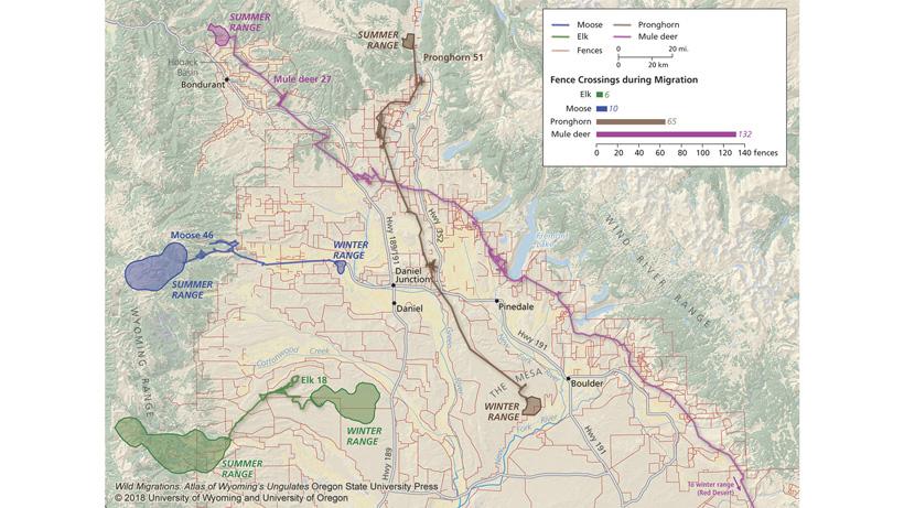 Wild Migrations, Atlas of Wyoming's Ungulates | goHUNT