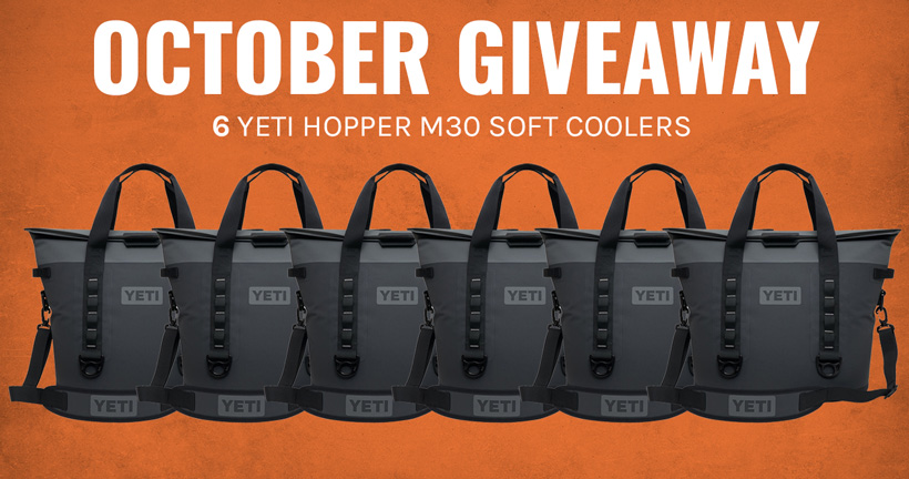 YETI Hopper M30 Soft Cooler Giveaway