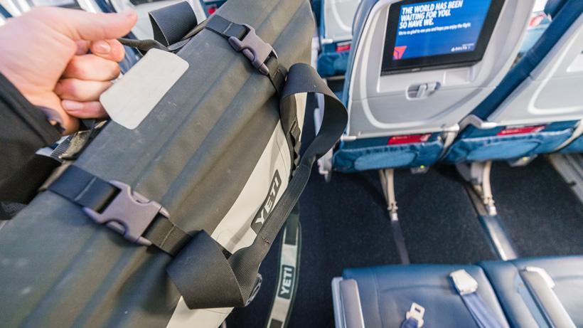 Yeti Hopper M30 carry on while flying