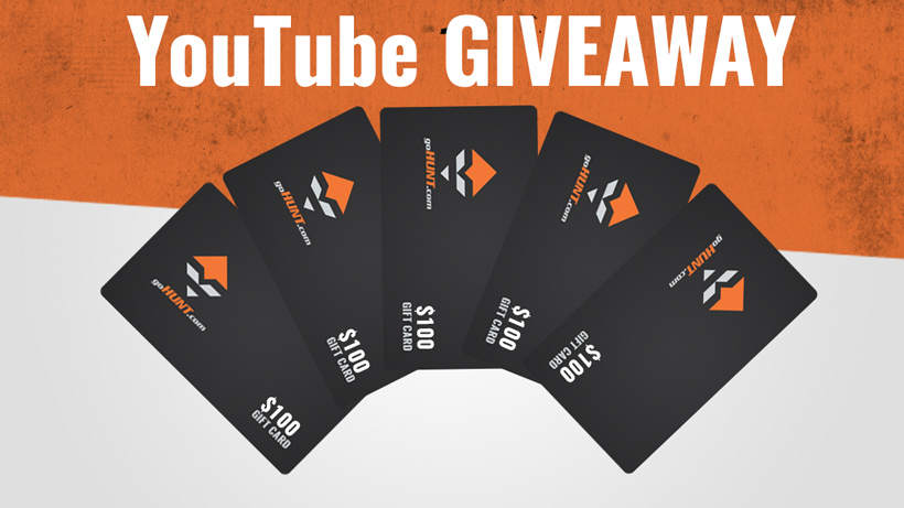 YouTube GIVEAWAY