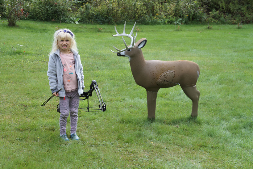 Introducing youth to archery at a young age