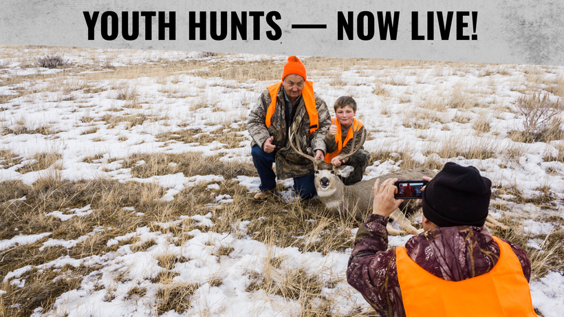 Youth hunting information now live on INSIDER