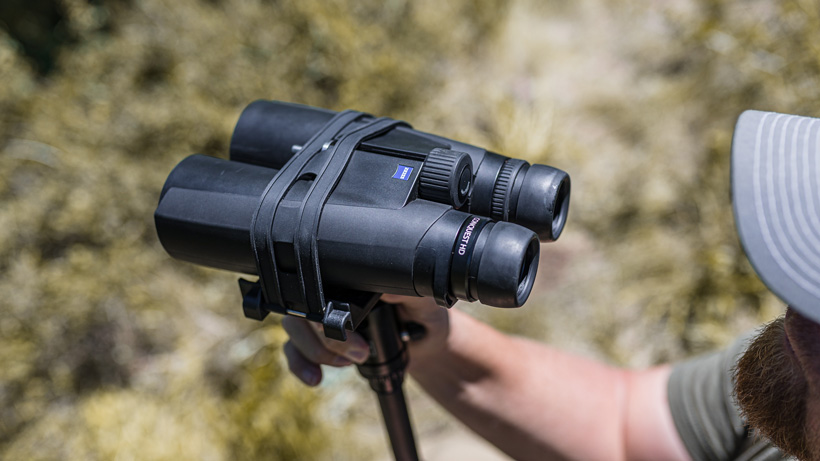 Zeiss Conquest HD 15x56 binoculars while scouting