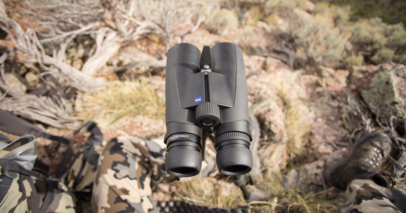Zeiss binoculars on a tripod