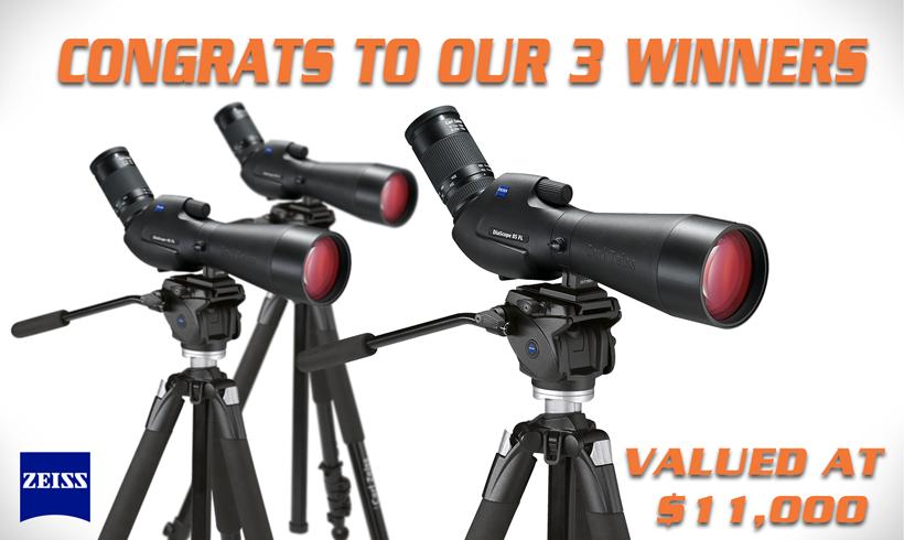 Zeiss spotting scope winners