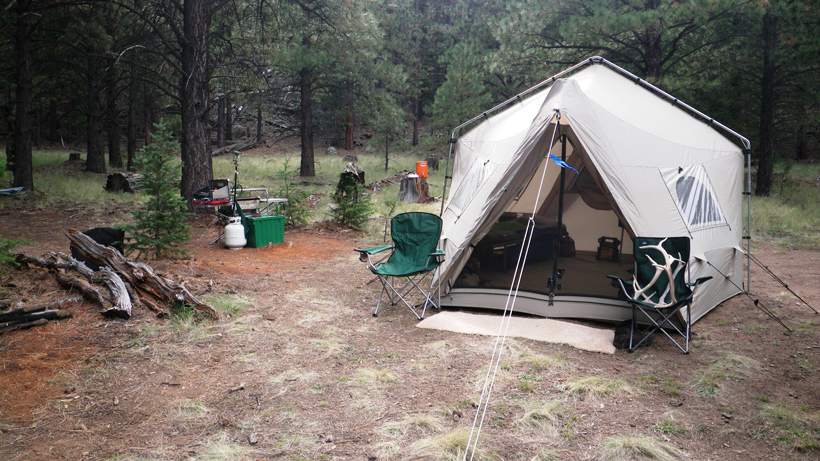 Arizona elk camp