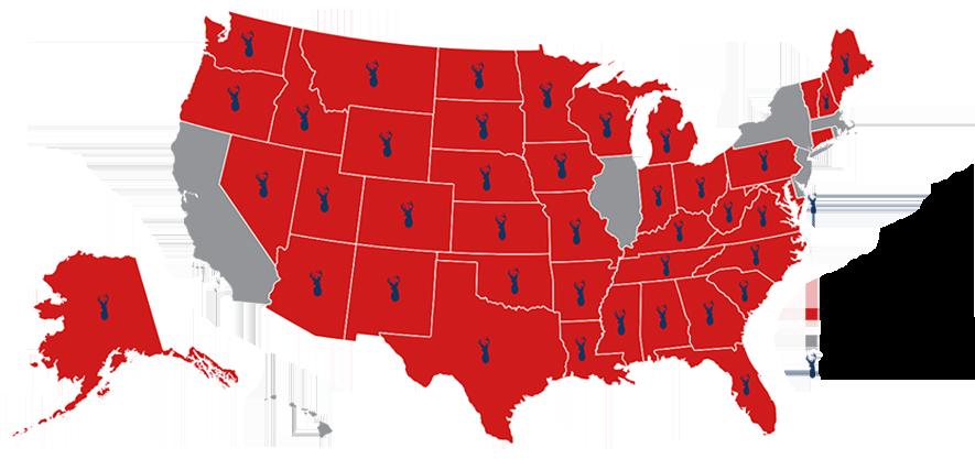 ASA legality map