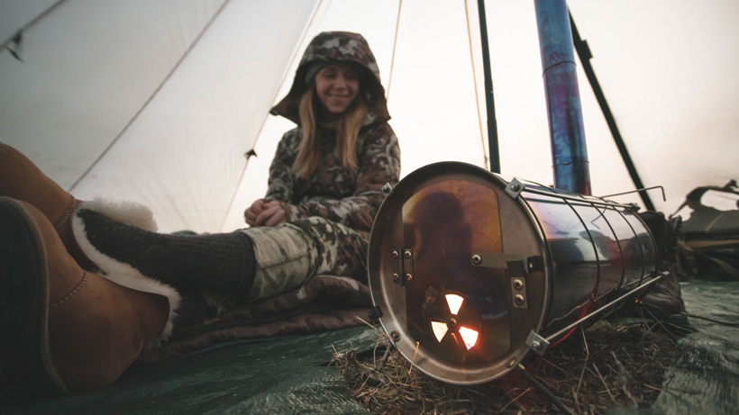 Late season floorless shelter tips and lessons learned