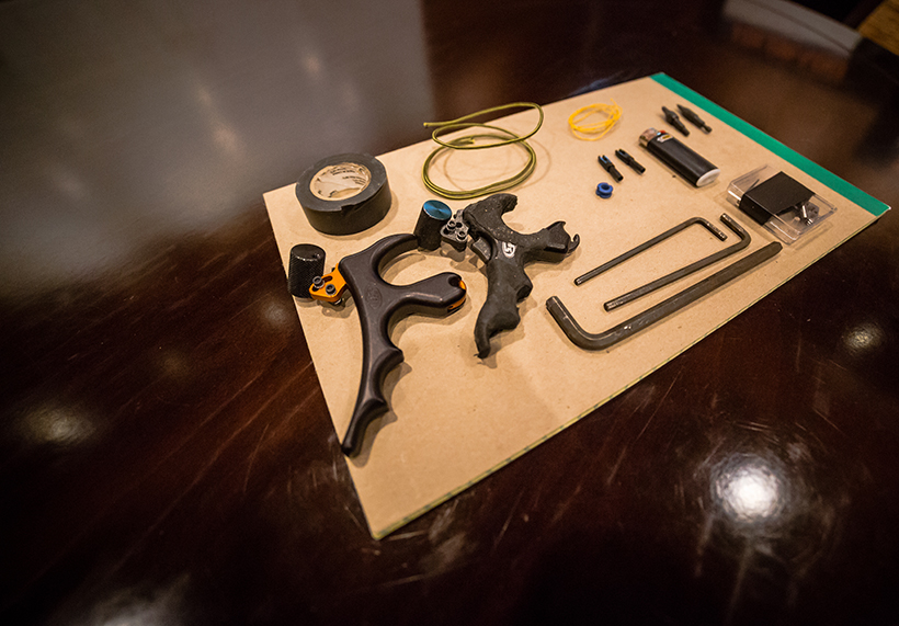 Backcountry bow repair kit