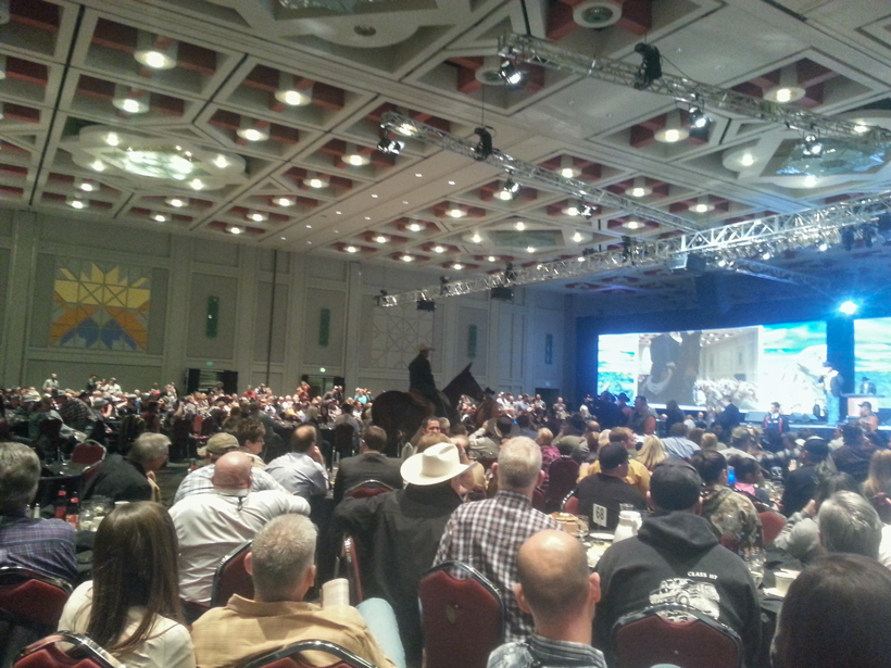 Hunting convention photo