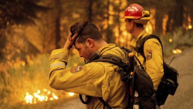 Megafire hits California