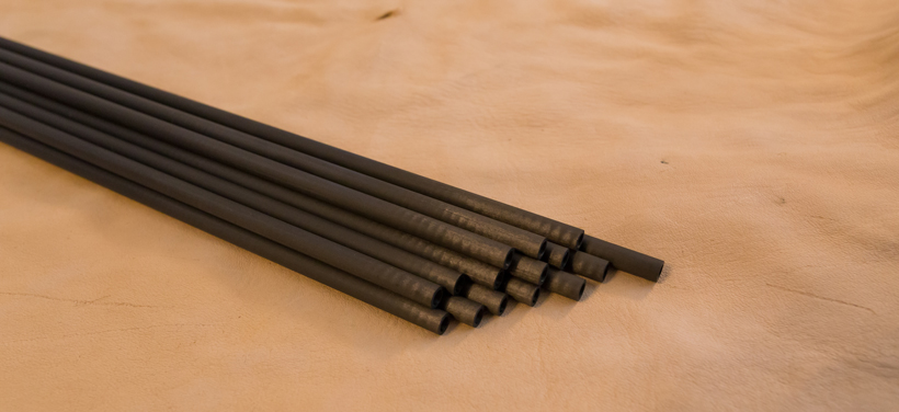 Carbon arrow material
