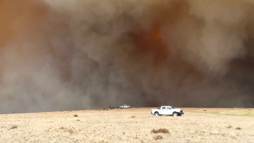 Crater Ridge fire prompts closures to several hunting areas