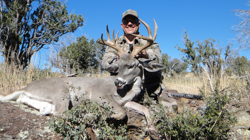 Cody with his Arizona coues deer