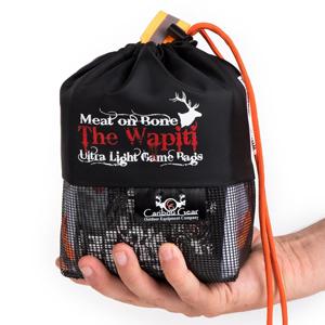 "Caribou Gear ""The Wapiti"" Meat on Bone Ultra Light Game Bag Set"