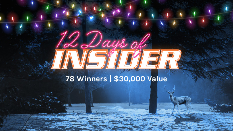 goHUNT 12 Days Of INSIDER giveaway