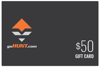 goHUNT 50 dollar gift card