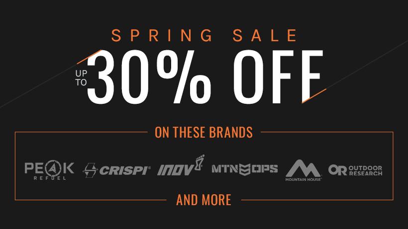 goHUNT Gear Shop spring sale