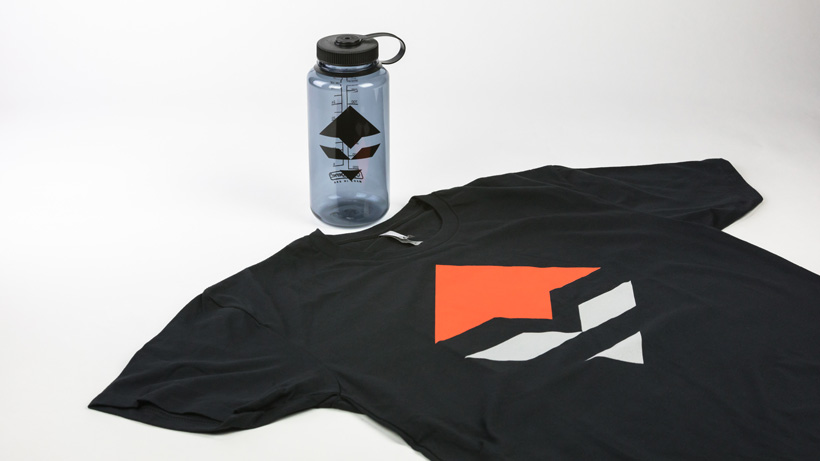 goHUNT Nalgene and T-shirt combo