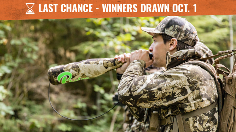 goHUNT September First Lite clothing giveaway last chance