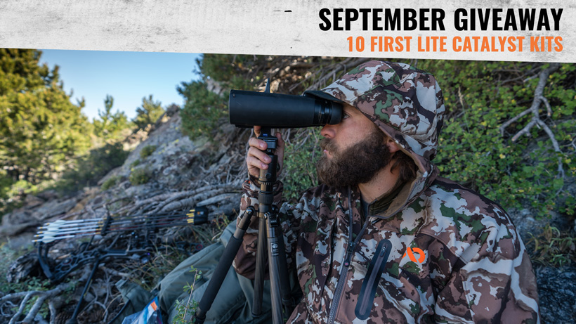 goHUNT September First Lite clothing giveaway