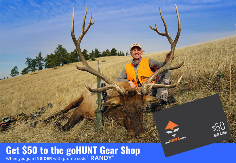goHUNT gear shop Randy Newberg promo