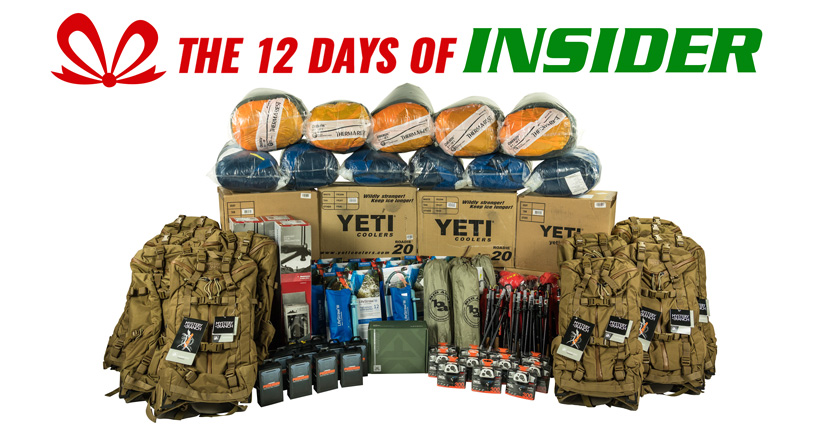 goHUNTs 12 days of INSIDER giveaways