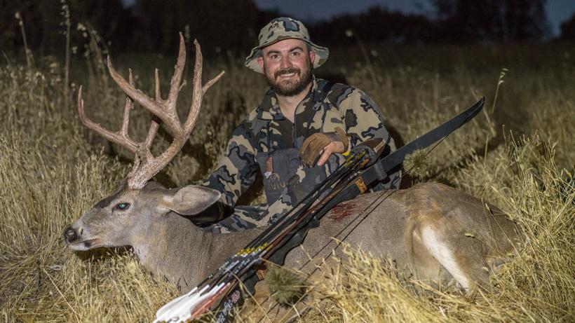 Successful mule deer hunt