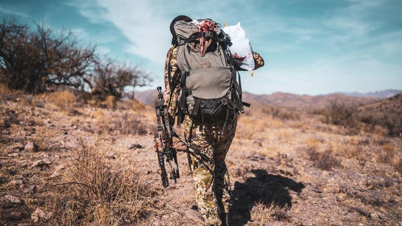 Mild weather meat handling after a hunt