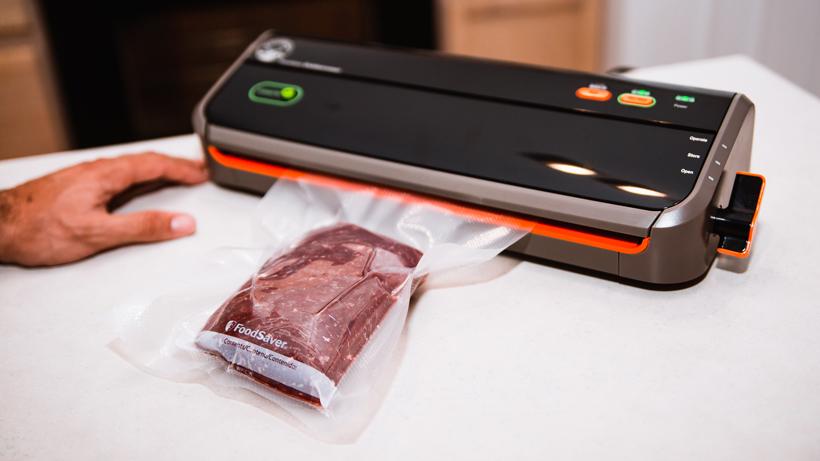 Vacuum sealer or butcher paper