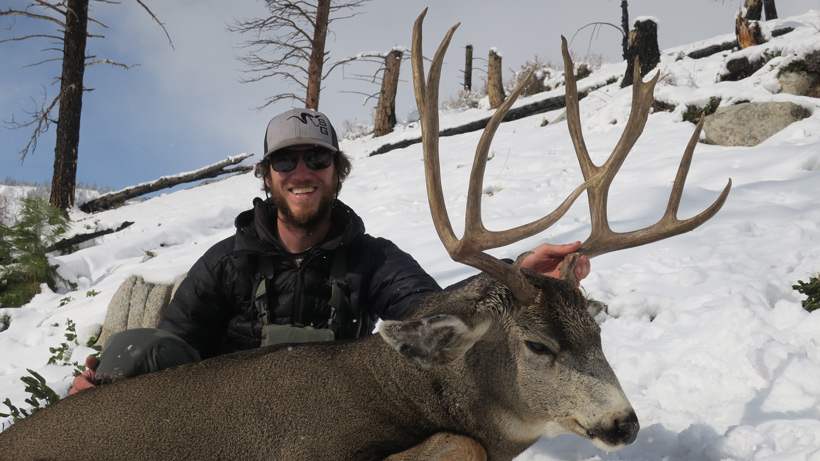 Second mule deer harvested in the same day