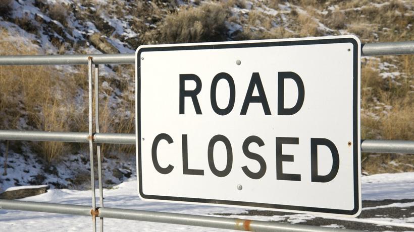 Idaho road closures
