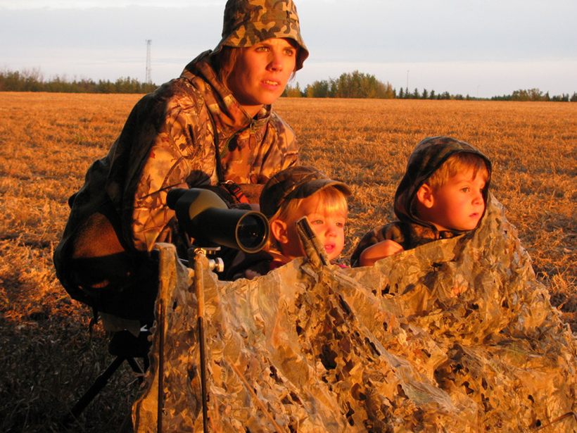 Scouting with family