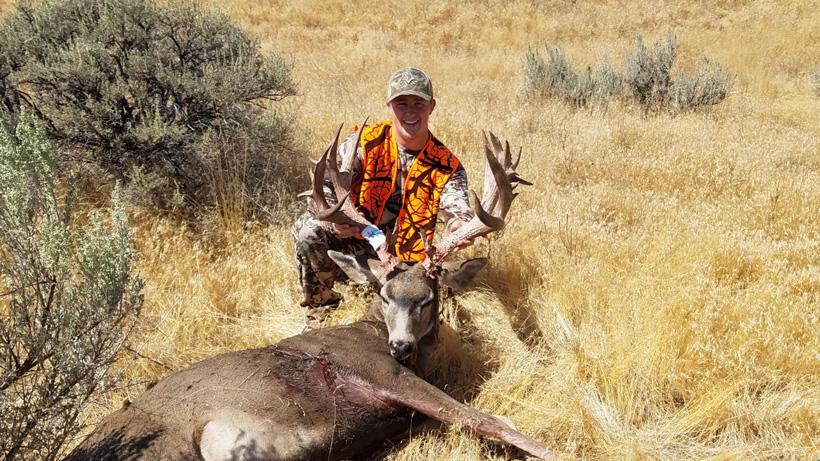 Jake's Washington mule deer buck