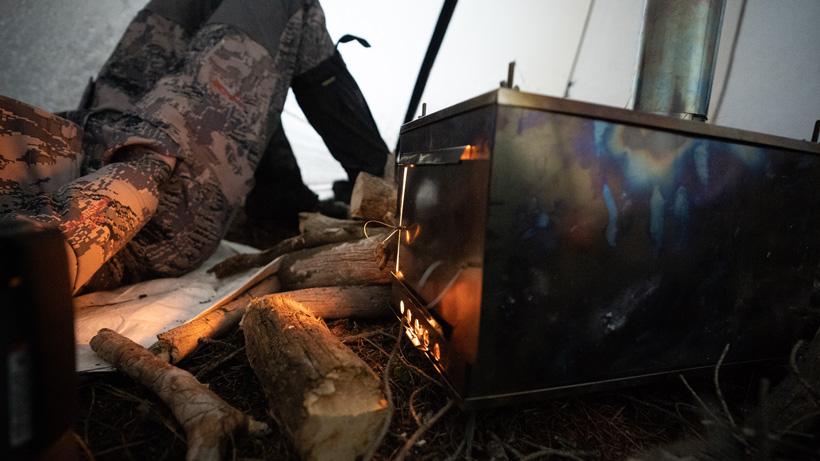 Late season floorless shelters