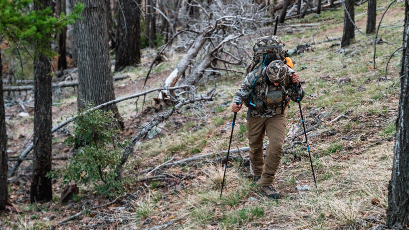 Maintaining mobility for backpack hunting
