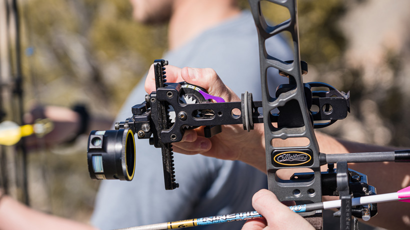 Looking for a new bow sight? Here are some options