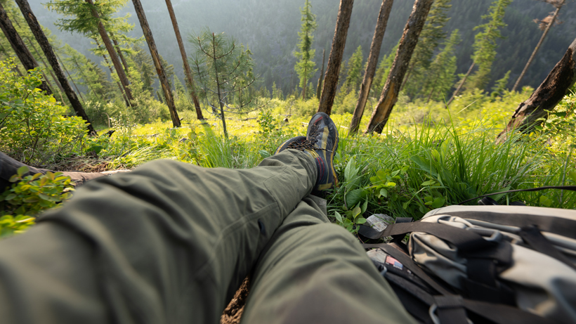 Using summer hikes to pick fall hunting spots