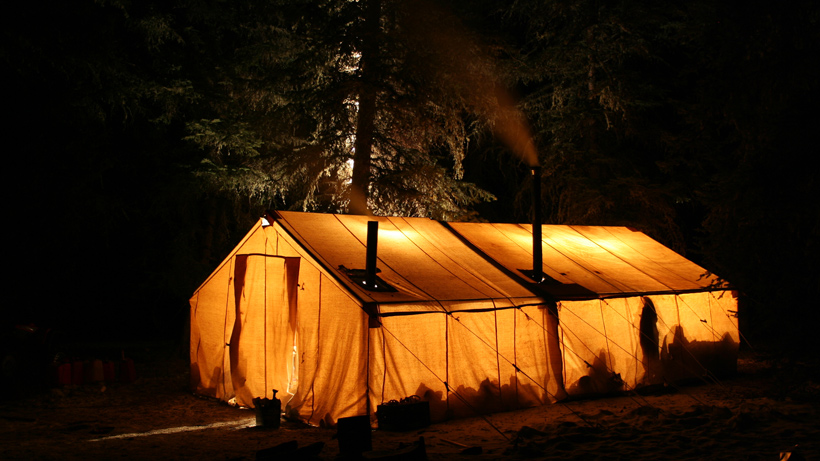 Outfitter tent