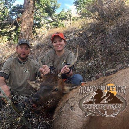 Ut beaver spike elk hunt fully outfitted gohunt for Utah fishing license cost