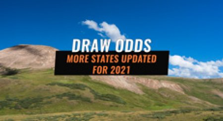 Draw Odds Updated In Colorado, Kansas, Montana & New Mexico